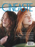 Cineaste cover